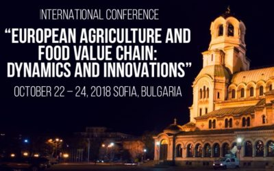 "Pro Drone Sys at the International Conference ""EUROPEAN AGRICULTURE AND: FOOD VALUE CHAIN DYNAMICS AND INNOVATIONS"""